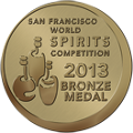 Roundstone Rye takes bronze medal at San Francisco World Spirits Competition in 2013
