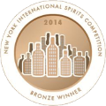 New York International Spirits Competition Bronze